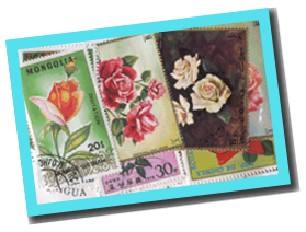 50 timbres différents ROSES